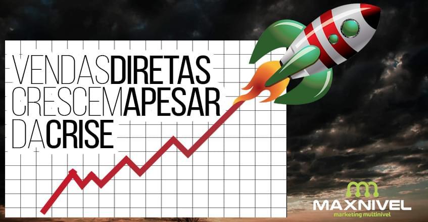 Sistema de vendas diretas e marketing multinível Maxnivel - Vendas diretas crescem apesar da crise